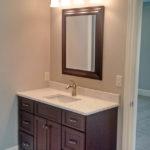 Bathroom sink at 2821 Pat Tillman in Centennial Park, Springfield, Illinois.