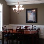 Dining Room at 1911 Forest Glen Springfield IL quality home in Iron Bridge Estates.