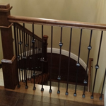 Beautiful staircases built by Moughan Builders.